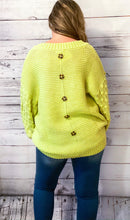 Load image into Gallery viewer, Paige Popcorn Knit Sleeve Sweater
