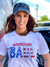 Load image into Gallery viewer, American Woman Camo Cap