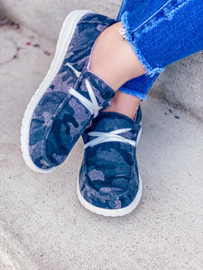 Gypsy Jazz Dark Camo Sneakers