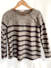 Load image into Gallery viewer, Charcoal Neutral Lovers Sweater