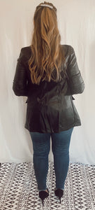 Feelin' Fierce Leather Blazer