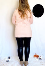 Load image into Gallery viewer, Pretty in Pink Drape Cardigan