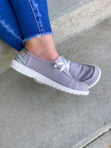 Gypsy Jazz Grey Sneakers