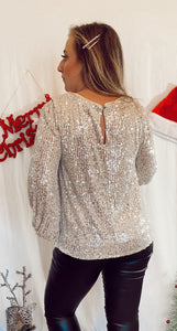 Let it Shimmer Blouse