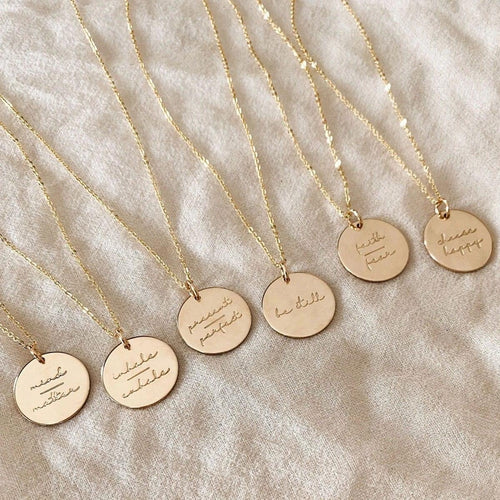Be Still Gold Necklace