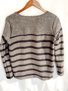 Charcoal Neutral Lovers Sweater