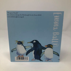 Emma Ball Penguins Greetings Card
