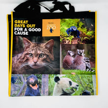 Load image into Gallery viewer, Edinburgh Zoo Recycled Shopping Bag