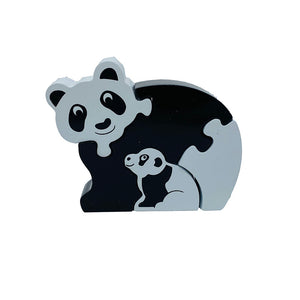 Lanka Kade Panda and Cub Jigsaw