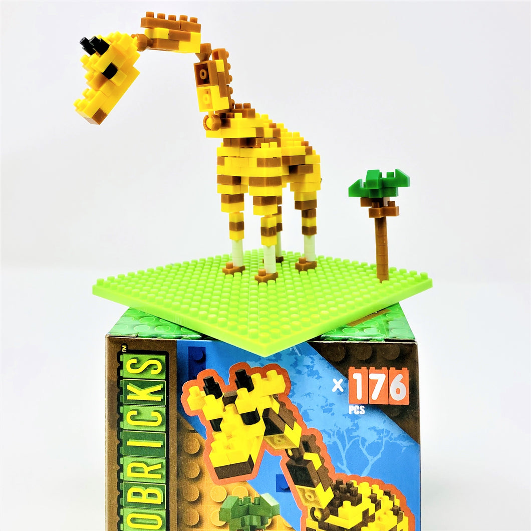 Animal Microbricks Sets