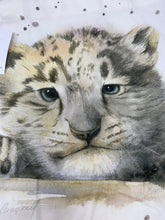 Load image into Gallery viewer, HWP Snow Leopard Cub Tote