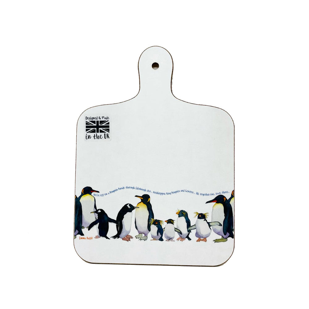 Emma Ball Penguins Mini Chopping Board