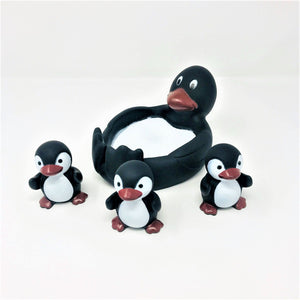 Penguin Family Bath Toys