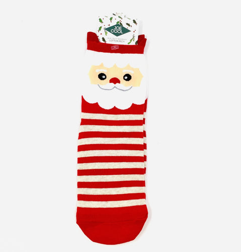 Stripey Santa Socks