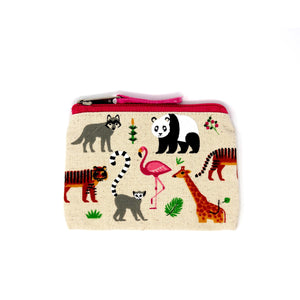 Organic Cotton Coin Purse