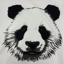 Load image into Gallery viewer, Men's Panda Face T-shirt - White