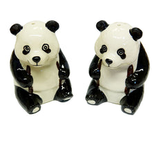 Load image into Gallery viewer, Giant Panda Salt and Pepper Set