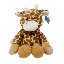 Load image into Gallery viewer, Cozy Warmer Heatable Toy Giraffe