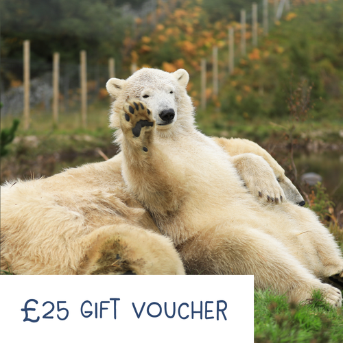 Highland Wildlife Park Gift Voucher - £25