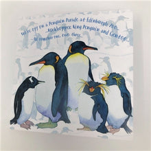 Load image into Gallery viewer, Emma Ball Penguins Greetings Card
