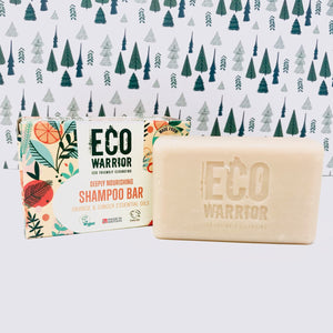 Flamingo Cosmetic Bag and Eco Warrior Soap Trio Bundle