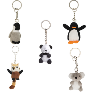 Edinburgh Zoo Tiny Softies Keyring