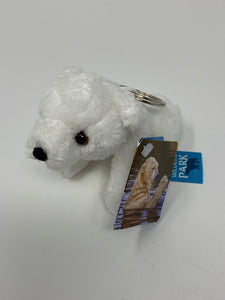 Soft Polar Bear Keyring