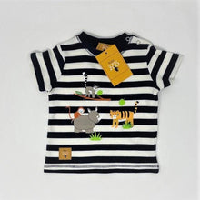 Load image into Gallery viewer, Jungle Vibes T Shirt 12-18 Months and Wooden Animals Bundle