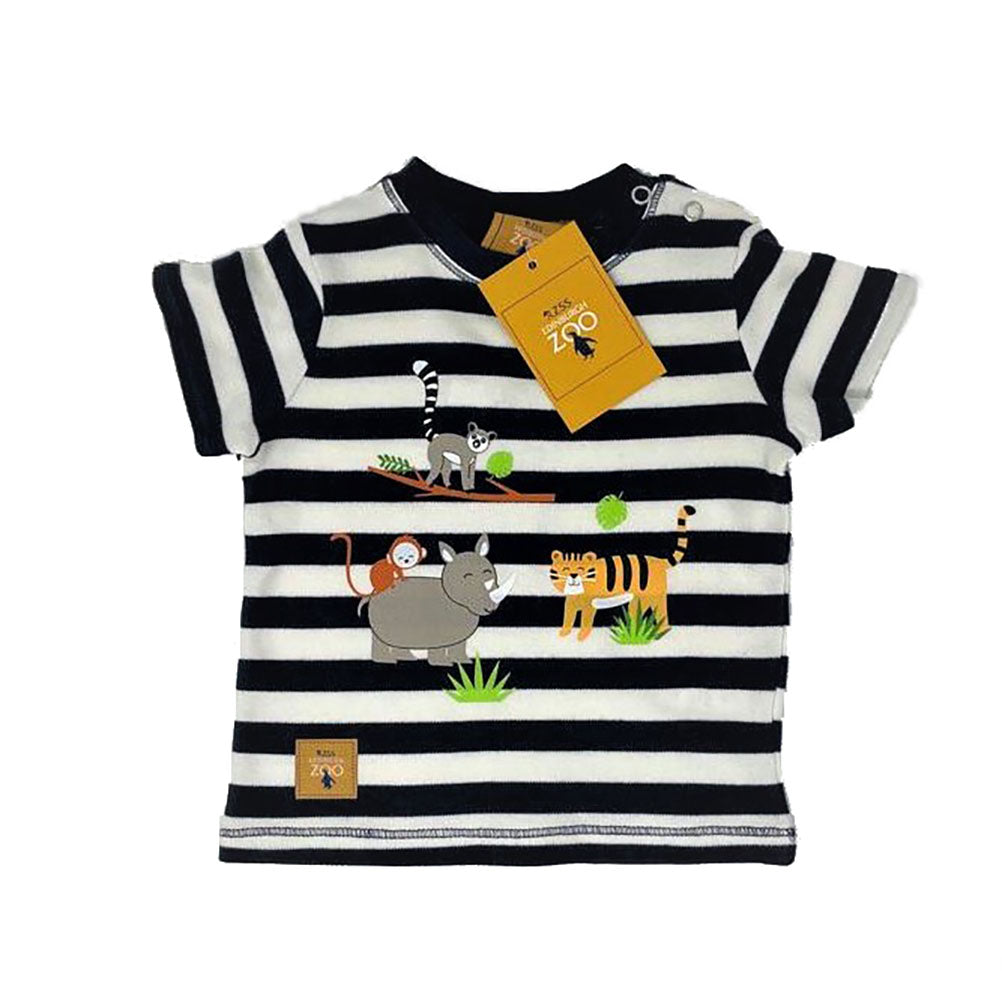 Organic Cotton Baby Jungle Animals T-shirt