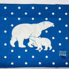 Load image into Gallery viewer, Highland Wildlife Park Tea Towel