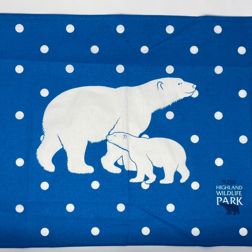 Highland Wildlife Park Tea Towel