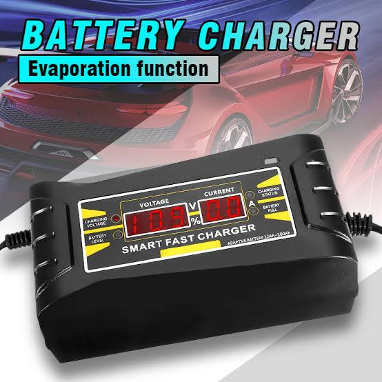 SMART FAST BATTERY CHARGER (220V - 12V 6A/10A)