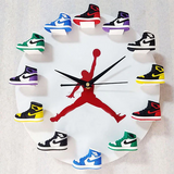 3D Sneaker Clock with 1-12 Mini Sneakers