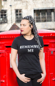 REMEMBER ME BLACK TEE
