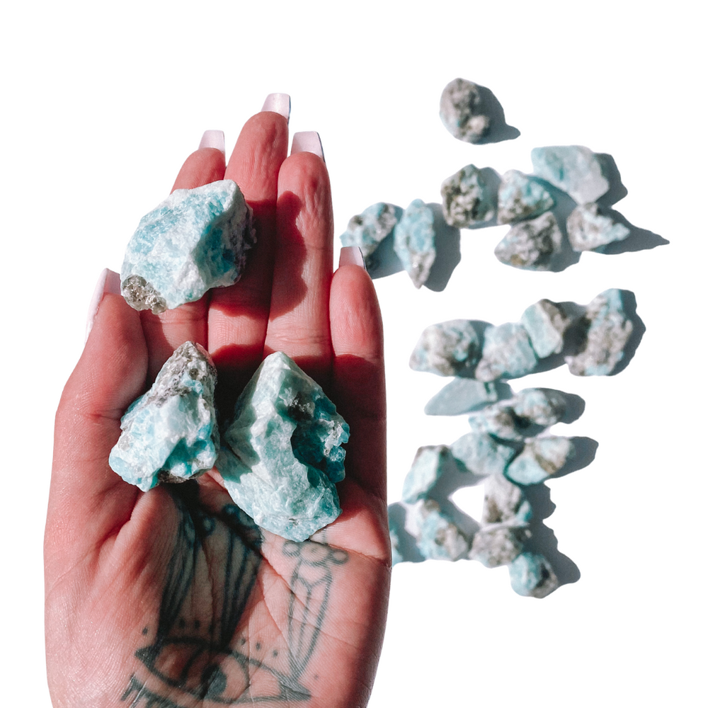 Amazonite Natural Pieces
