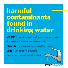 list of harmful contaminants in drinking water