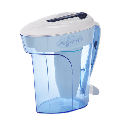 12 Cup Ready-Pour Water Filter Pitcher | ZeroWater
