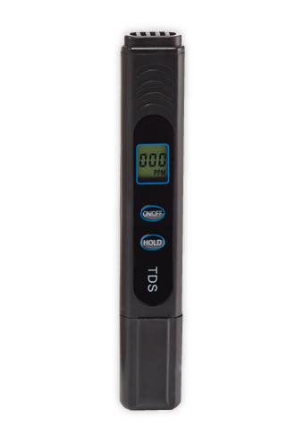 Black TDS meter on white background - 2 | ZeroWater