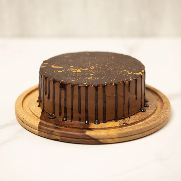 Belgian Chocolate & Coffee Fudge Cake
