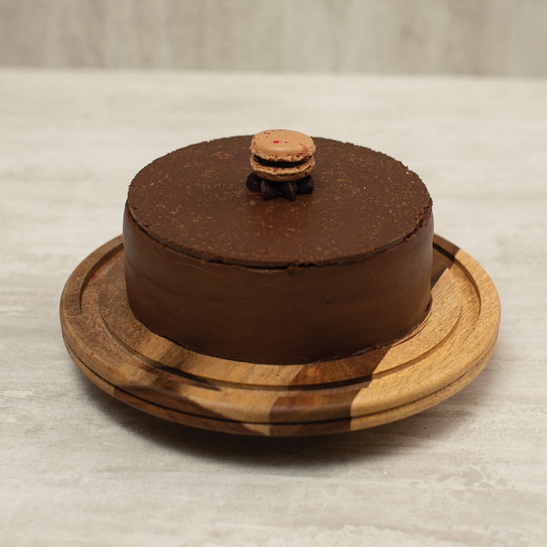 Belgian Chocolate & Hazelnut Fudge Cake