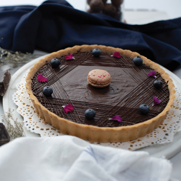 Chocolate & Caramel Tart