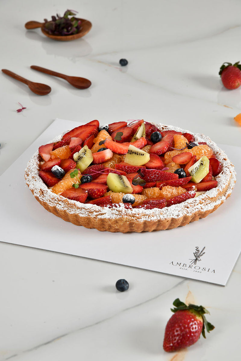 WINTER FRUITS PUFF PIE