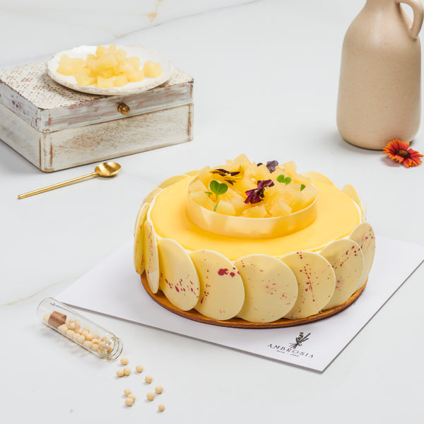 LEMON & PINEAPPLE CAKE