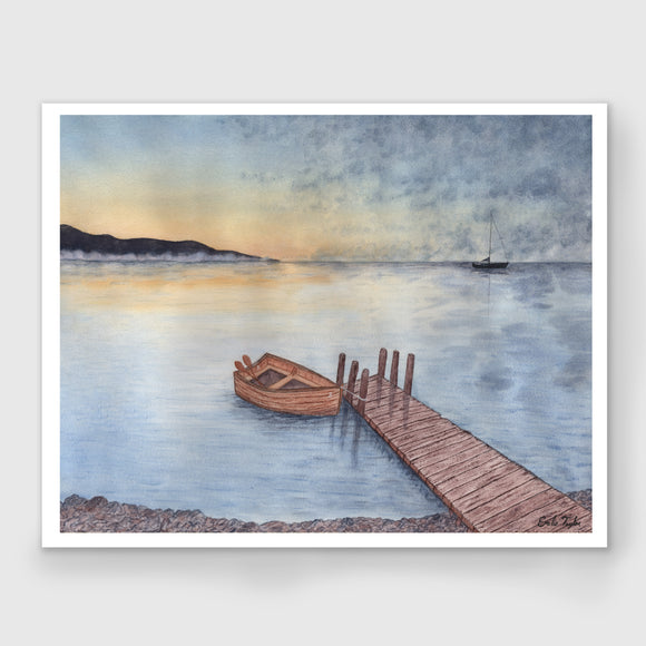 Rowboat #3 Limited Edition Print