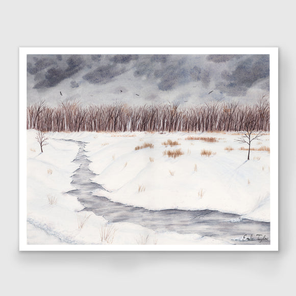 A Winter Walk Limited Edition Print