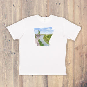 Arkansas T-shirt | Arkansas Tee | Home State Shirt | Arkansas Pride Shirt | Little Hawk ridge Art