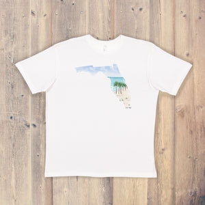 Florida T-shirt | Florida Tee | Home State Shirt |  Florida Pride Shirt | Florida Keys Art