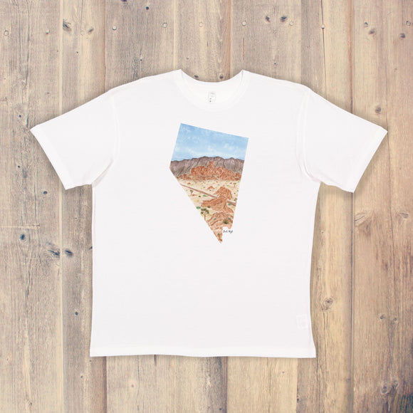 Nevada T-shirt | Nevada Tee | Home State Shirt | Nevada State Pride Shirt | Valley of Fire State Park