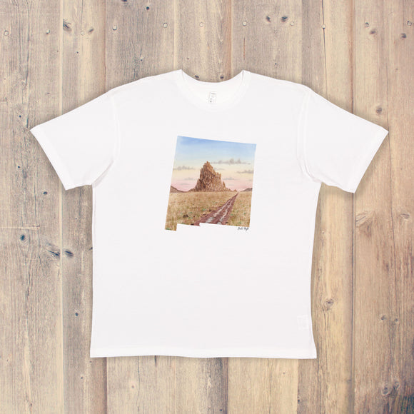 New Mexico T-shirt | New Mexico Tee | Home State Shirt | New Mexico State Pride Shirt | Ship Rock Art