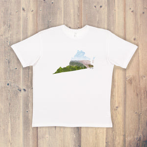 Virginia T-shirt | Virginia Tee | Home State Shirt | Virginia state Pride Shirt | McAfee Knob VA